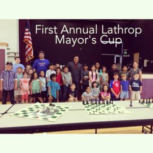Lots of happy faces at the  inaugural Lathrop Mayor's Cup Chess Tournament.