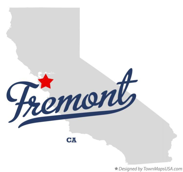 map_of_fremont_ca