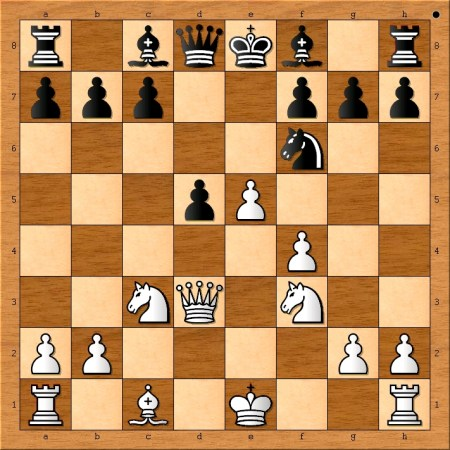 Position after 10. e5.