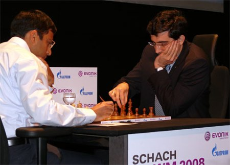 Anand-Kramnik Game 4