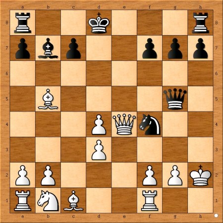 I told my students that Fischer resigned too early. How would have you continued as white?