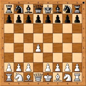"""Chess Master Eric Schiller """"Opens with a center pawn."""""""