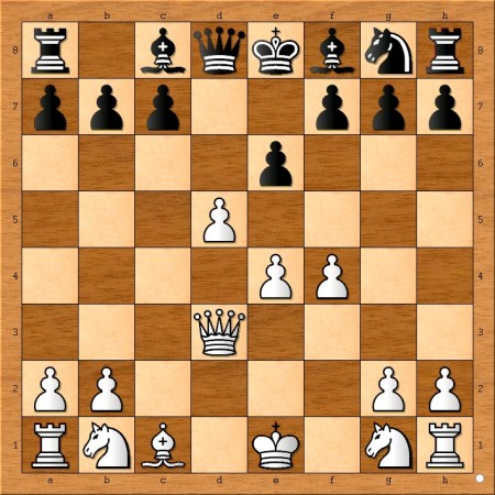Position after 7... e6.