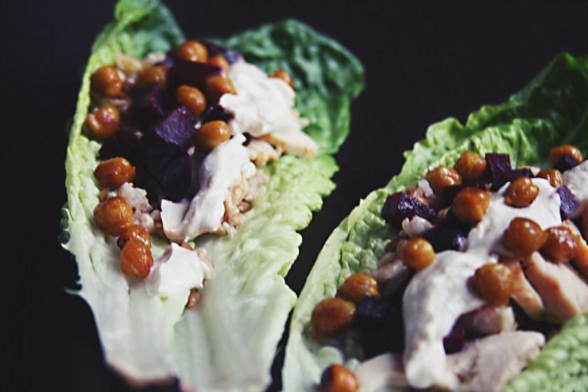 beet-chicken-lettuce-wrap-18