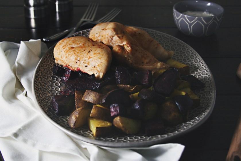 chicken-beets-potatoes-tahini-yogurt-sauce-11