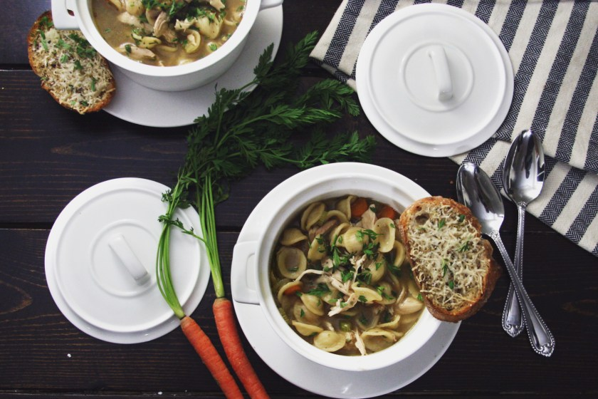 chicken-noodle-soup-parmesan-toast-4