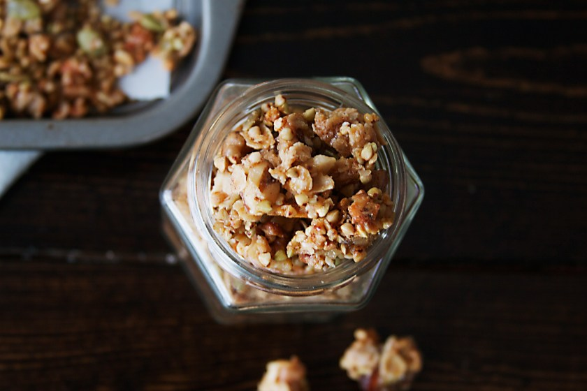 tahini-buckwheat-granola