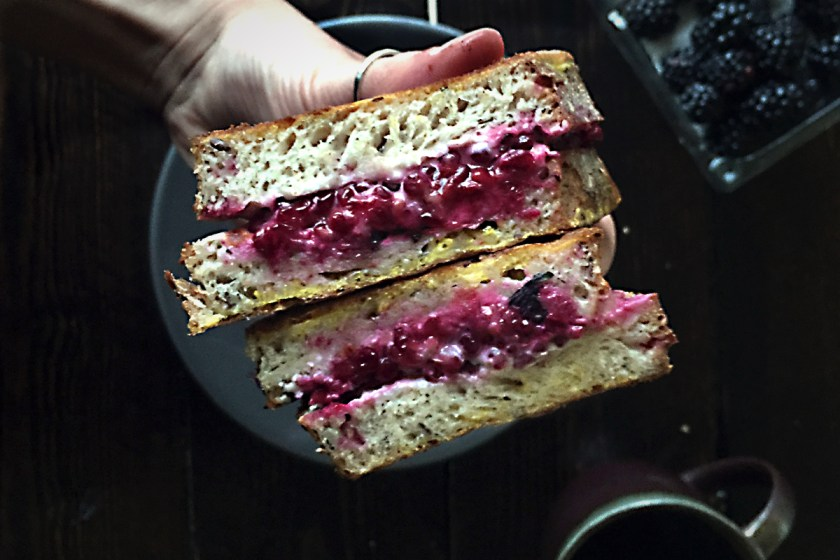 blackberry-goat-cheese-french-toast-sandwich-2
