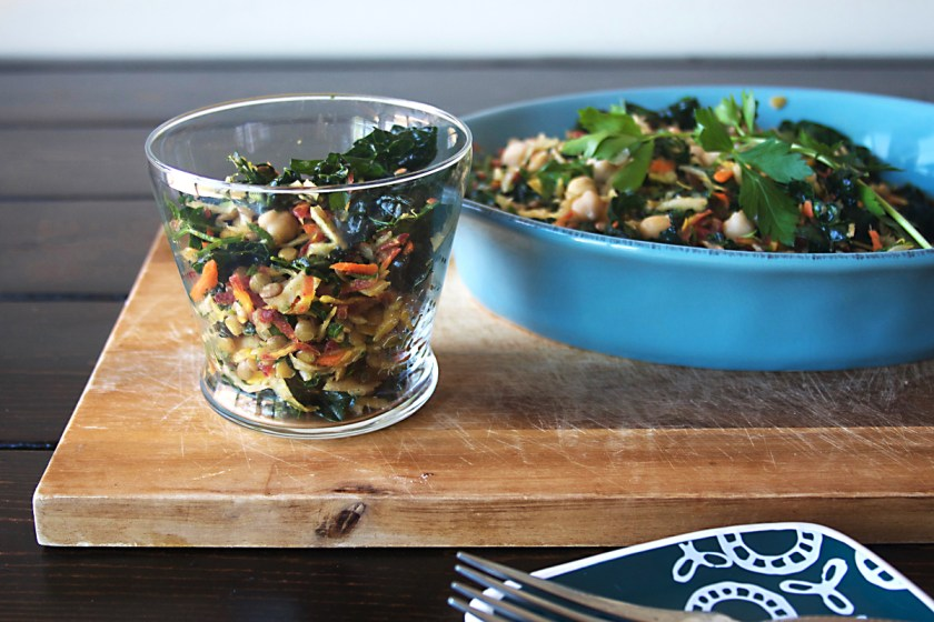 lentil-kale-rainbow-carrot-salad