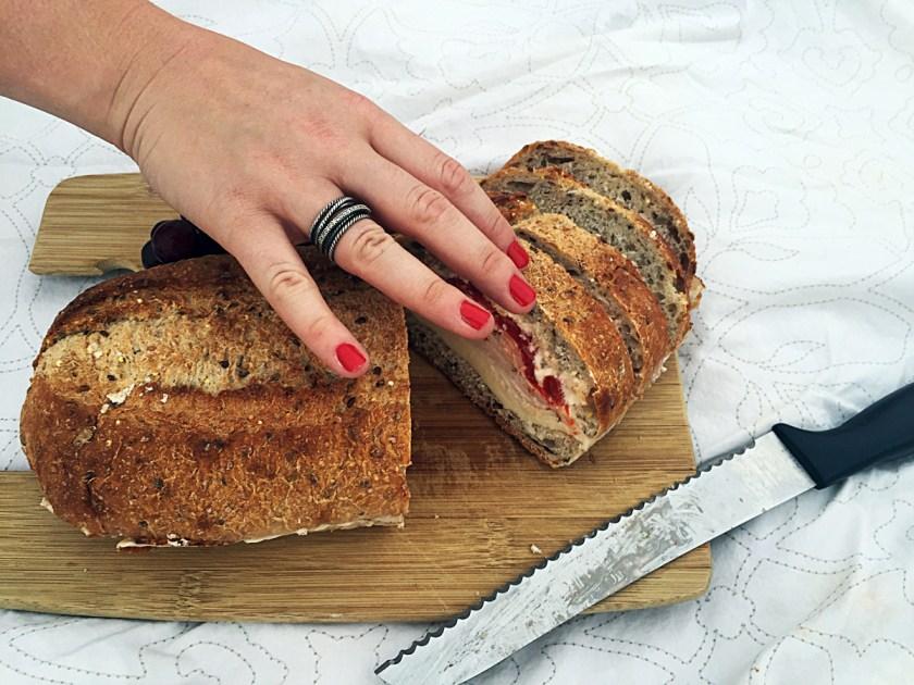 turkey-roasted-pepper-cream-cheese-pressed-sandwich-10