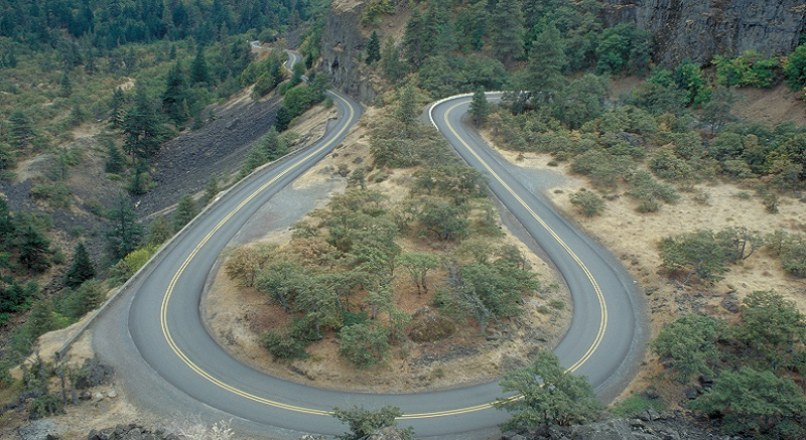 Types Of Curves On Hill Roads