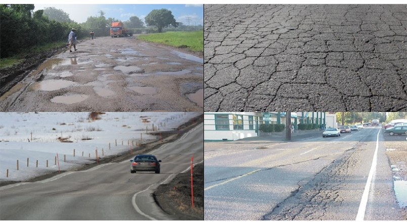 Types Of Failures In Flexible Pavements