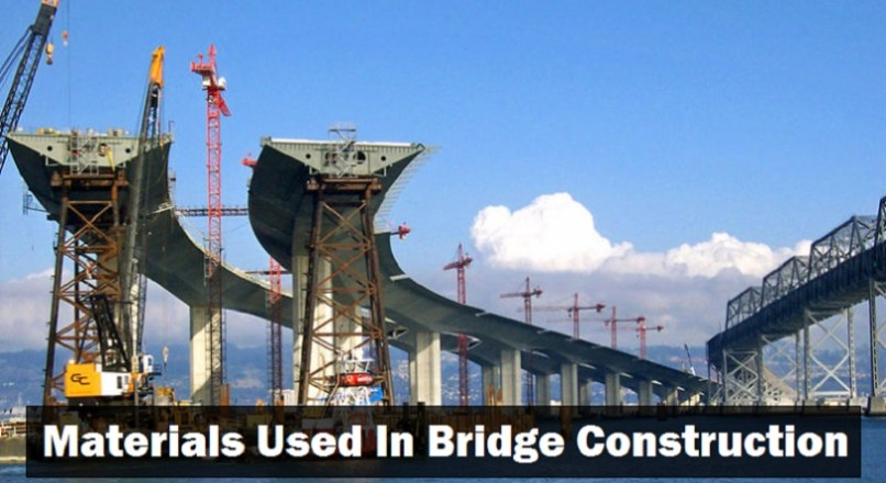 Materials Used In Bridge Construction
