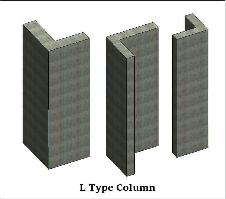 types of columns