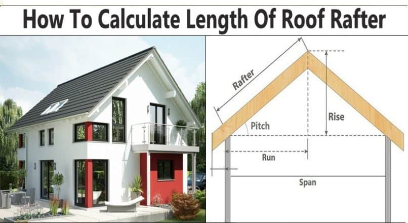 How To Calculate Length Of Roof Rafter