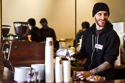 RJ Leimpeter begins coffee roasting at Timeless