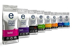 ethical bean coffee package