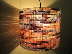 Lampada coffee filter lampshade