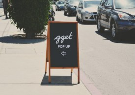 Go Get Em Tiger Pop Up Bar on Hyperion in the former Lucky Duck space. Photo by Amparo Rios.