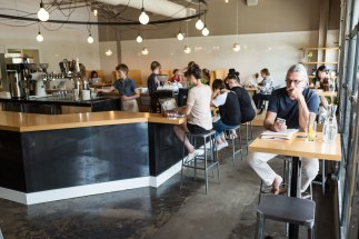 Steadfast Coffee in Nashville, Tennessee. Photo by Ethan Covey.