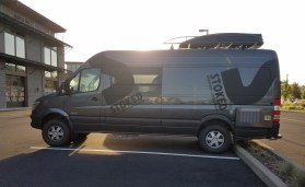 The Stoked Mobile Mercedes Sprinter.