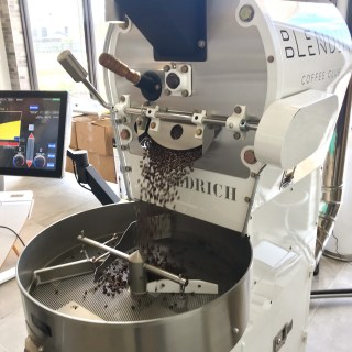 The Diedrich IR5 roaster. Photo courtesy of BlendIn Coffee Club.