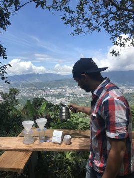 John Espitia, Insignia Coffee