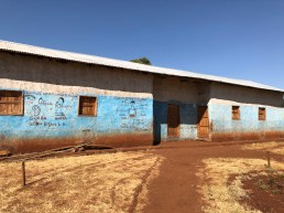 The primary school built by Israel Degfa's, charity Bunekea. It's named after a coffee ceremony. Photo by Mark Shimahara/Daily Coffee News