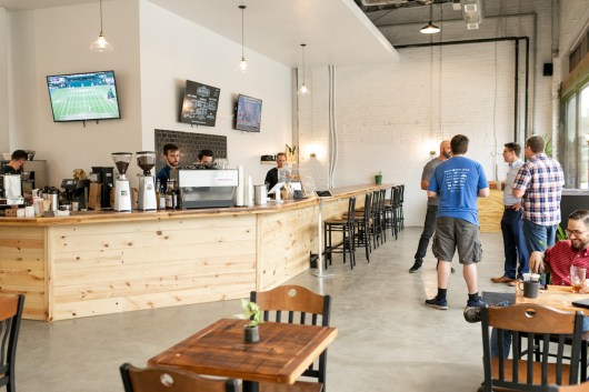 Rochester Brewing & Roasting Co. in Kansas City. Photo by Jana Marie Photography, courtesy of RB&R.