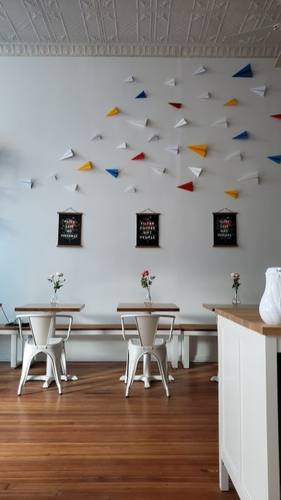 paper plane coffee shop