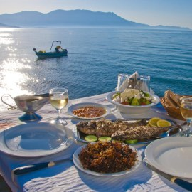 The Mediterranean diet in the wild