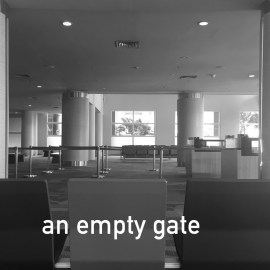 I like being first at the gate