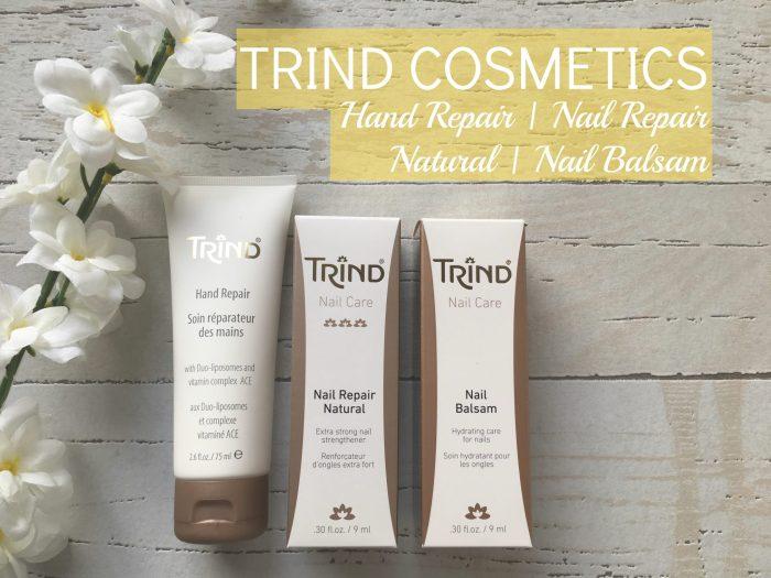 TRIND COSMETICS – HAND REPAIR, NAIL REPAIR NATURAL & NAIL BALSAM