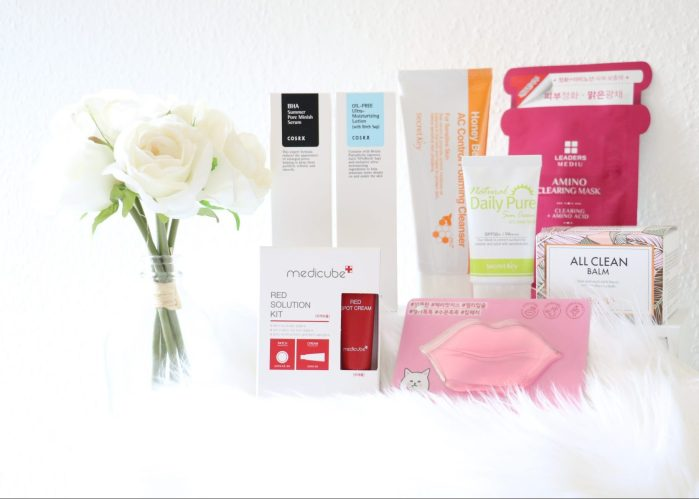 XXL REVIEW KOREAANSE SKINCARE PRODUCTEN: ALL CLEAN BALM, HONEY BEE'S AC CONTROL FOAMING CLEANSER, BHA SUMMER PORE MINISH SERUM, AMINO MASK CLEARING, RED SOLUTION KIT, OIL-FREE ULTRA-MOISTURIZIG LOTION,  NATURAL DAILY PURE SUN CREAM & CHERRY LIP PATCH  | LIFEANDBEAUTYSHOP.NL