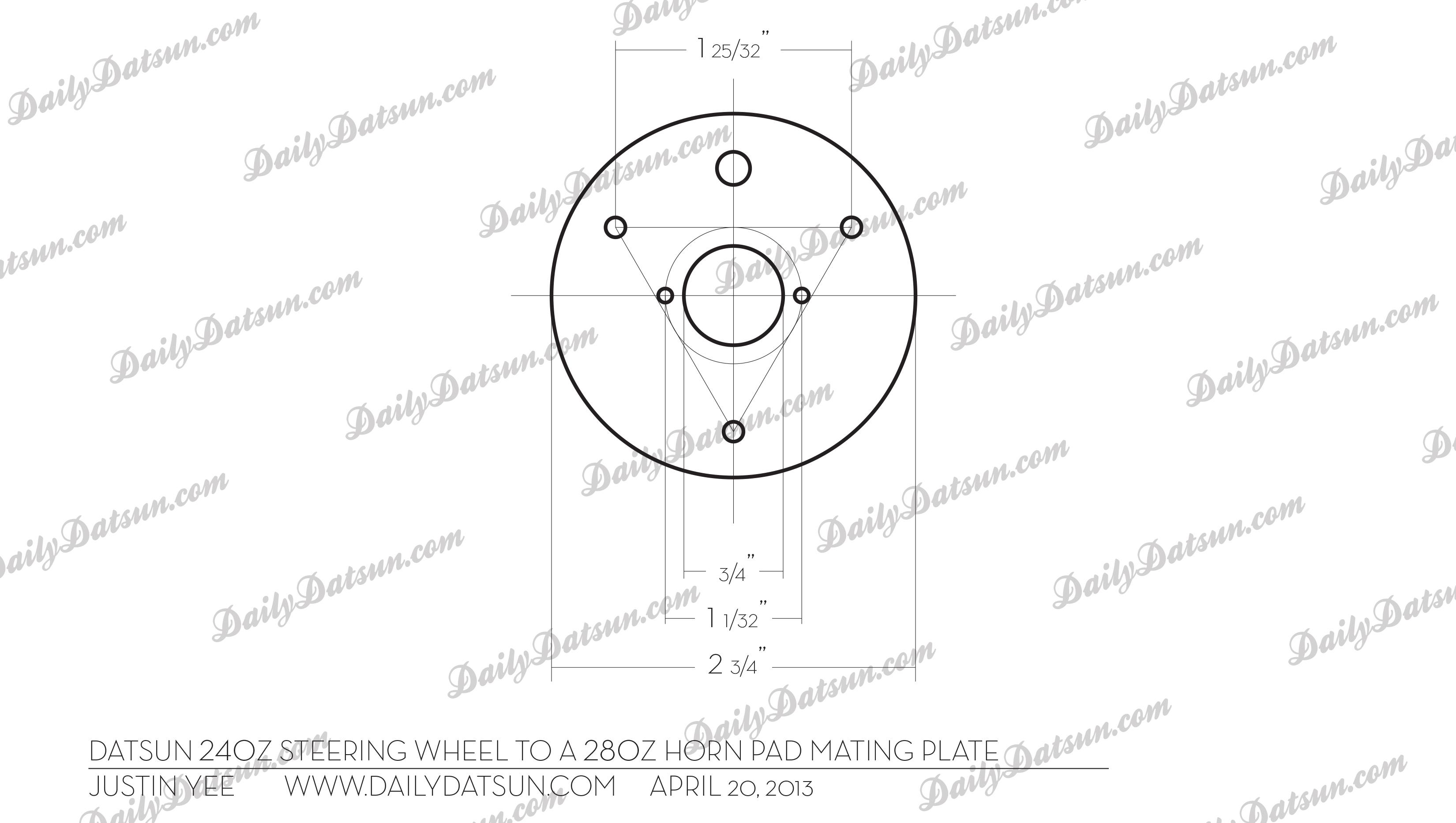 Dailydatsun 240z to 280z hornmatingplate copy
