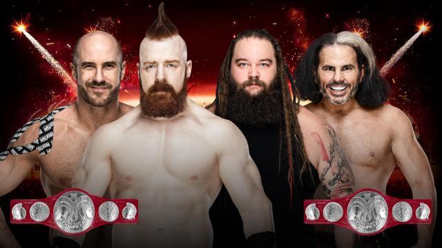 The Bar vs Woken Matt Hardy and Bray Wyatt Predictions.