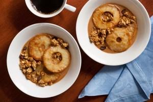 Chai Peanut Butter Apple Breakfast