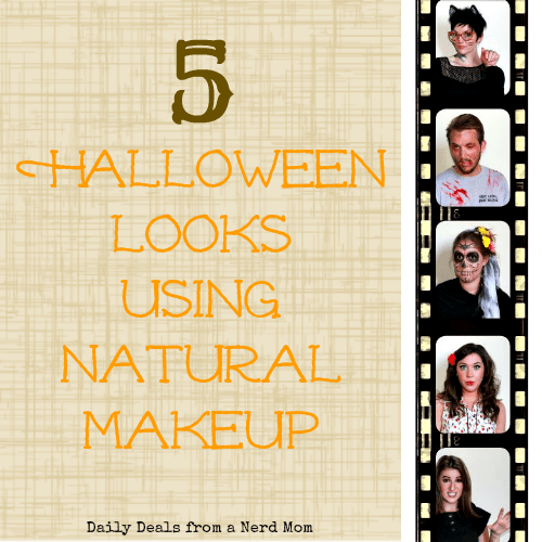 5 Halloween Looks Using Natural Makeup
