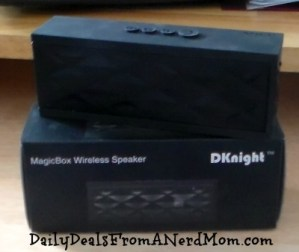 DKnight Magicbox Ultra-Portable Wireless Bluetooth Speaker Review