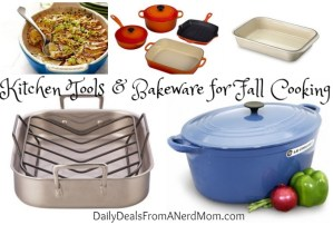 Kitchen Tools and Bakeware for Fall Cooking