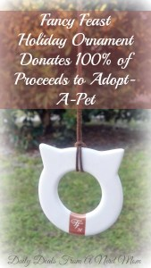 Fancy Feast Holiday Ornament Donates 100% of Proceeds to Adopt-A-Pet‏