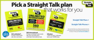 Straight Talk Wireless Available ONLY at Walmart