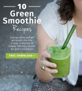 10 FREE Healthy Green Smoothie Recipes