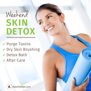 Four Step Weekend Skin Detox