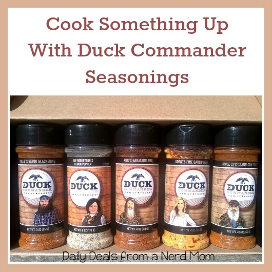 Cook Something Up With Duck Commander Seasonings >> Daily Deals from a Nerd Mom