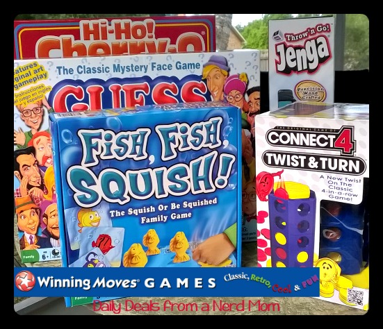 Winning Moves Family Game Night Giveaway {US ends 5/21/15}