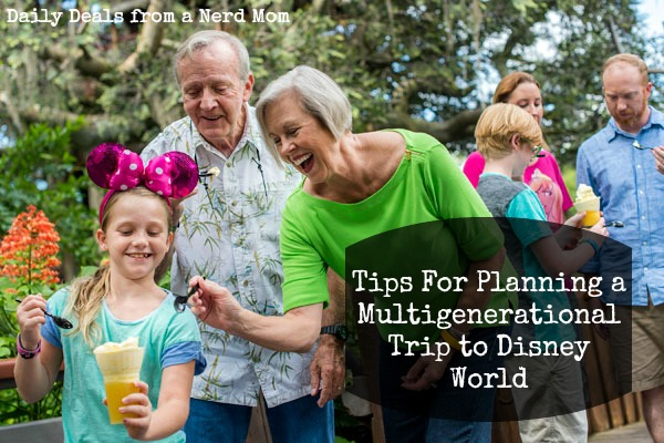 Tips For Planning a Multigenerational Trip to Disney World