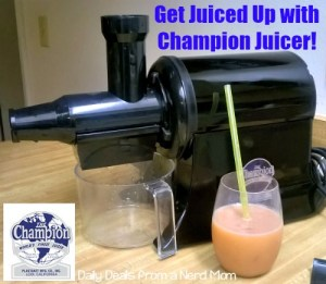Get Juiced Up with Champion Juicer!