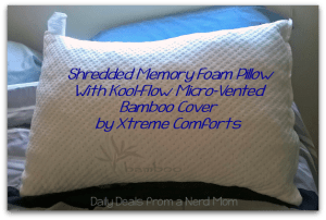 Shredded Memory Foam Pillow Review