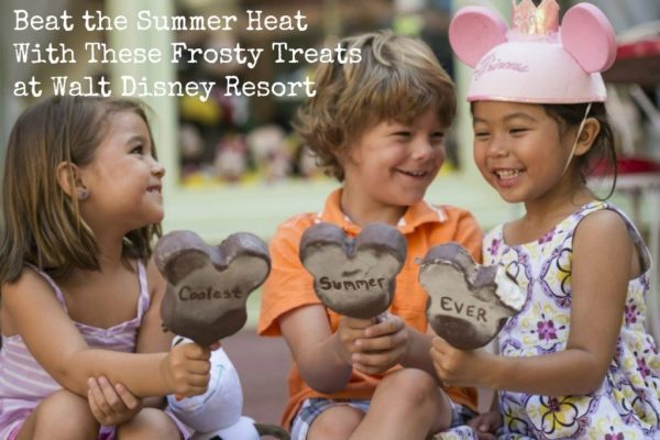 Beat the Summer Heat With These Frosty Treats at Walt Disney Resort